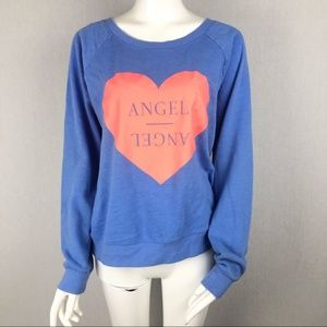 Victoria's Secret Light Blue Angel Sweater